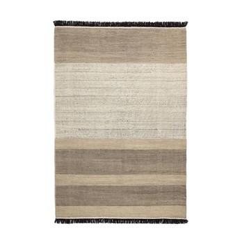 Nanimarquina - Tres Stripes Woll-Filz Teppichläufer