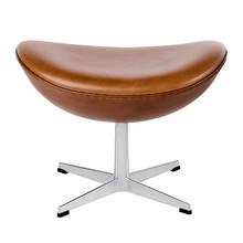 Fritz Hansen - Egg Chair/Das Ei™ Fußhocker Leder