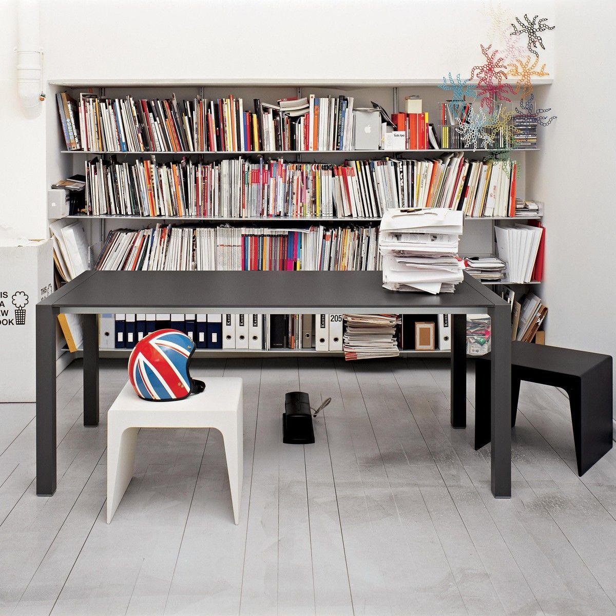 sushi alucompact tisch ausziehbar kristalia. Black Bedroom Furniture Sets. Home Design Ideas