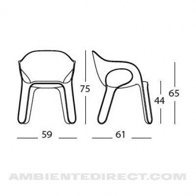 Easy Chair Magis AmbienteDirectcom
