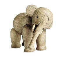 Kay Bojesen Denmark - Kay Bojesen Wooden Figurine Elephant