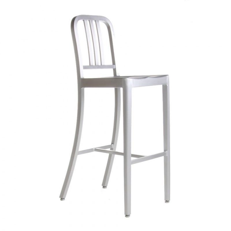 emeco navy chair seat pad copy aluminium brushed reproduction