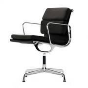 Vitra - EA 208 Soft Pad Eames Alu Chair Office Chair