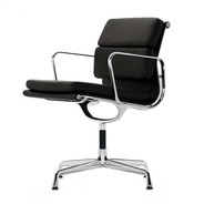 Vitra - EA 208 Soft Pad Eames Alu Chair Office Chair