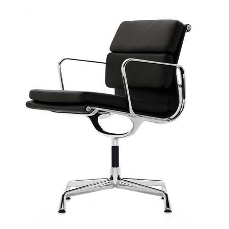 Eames Bureaustoel Vitra.Vitra Ea 208 Soft Pad Eames Chair Bureaustoel Ambientedirect