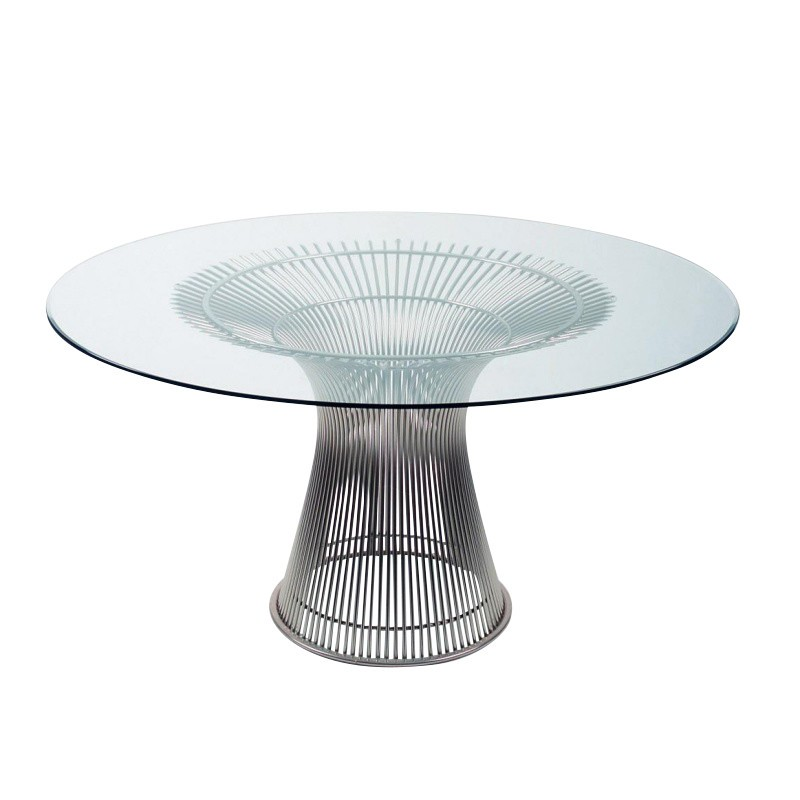 Knoll International Platner Dining Table Ambientedirect