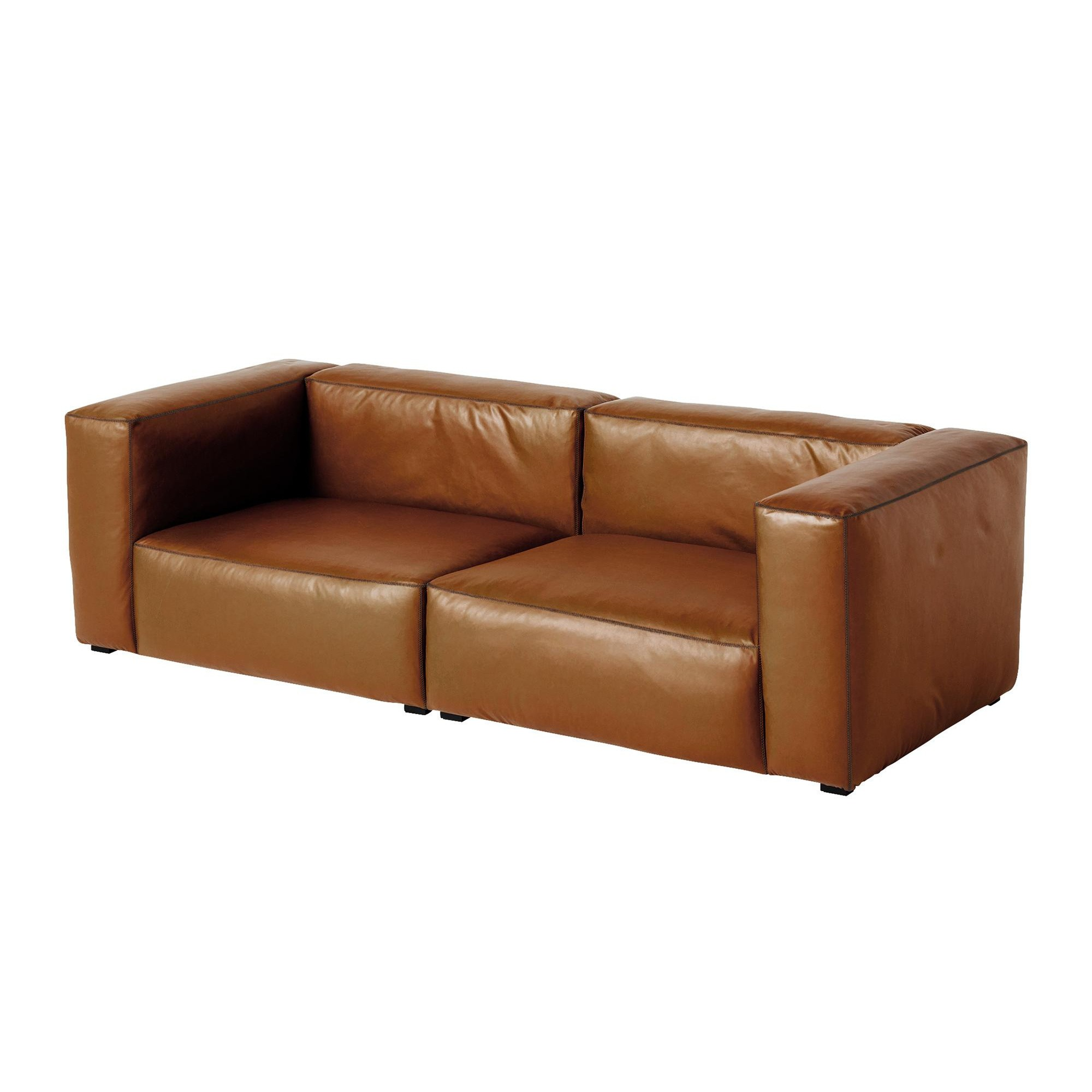 Hay Mags Soft 2 5 Seater Leather Sofa 228x95 5x67