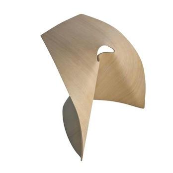 la palma - AP Stool - oak blanched/47x50x37cm