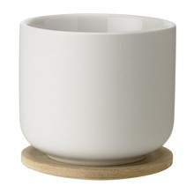 Stelton - Theo Tea Mug With Saucer