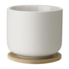 Stelton - Tasse de thé avec soucoupe Theo