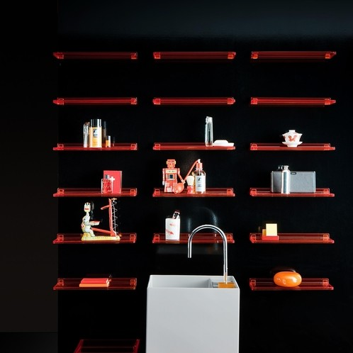 Kartell - Kartell by Laufen Shelfish Wandregal