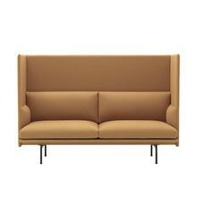 Muuto - Outline Highback Sofa 2-Sitzer