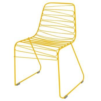 Magis - Flux Stuhl - gelb/lackiert
