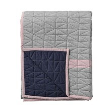 Bloomingville - Throw Quilted - Plaid/jeté de lit