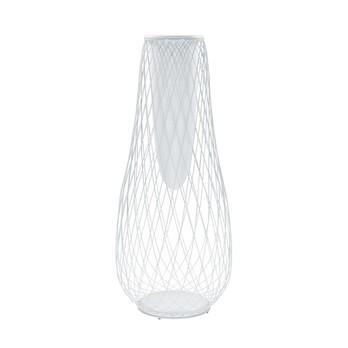 emu - Heaven Vase/Blumentopf hoch - weiß/pulverbeschichtet/H 163cm, Ø 68cm
