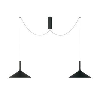 Rotaliana - Dry H2 LED Pendelleuchte  - schwarz/2700K/2400lm/Phasendimmer