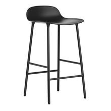 Normann Copenhagen - Form Barhocker Gestell Stahl 65
