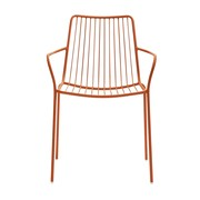Pedrali - Chaise avec accoudoirs/dossier haut Nolita 3656