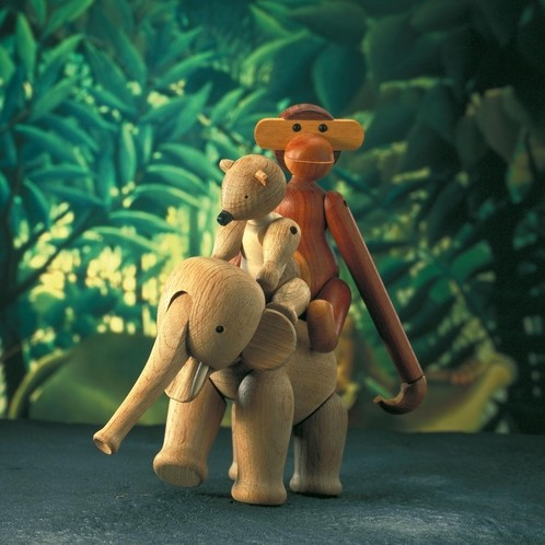 Kay Bojesen Denmark - Kay Bojesen Holzfigur Elefant