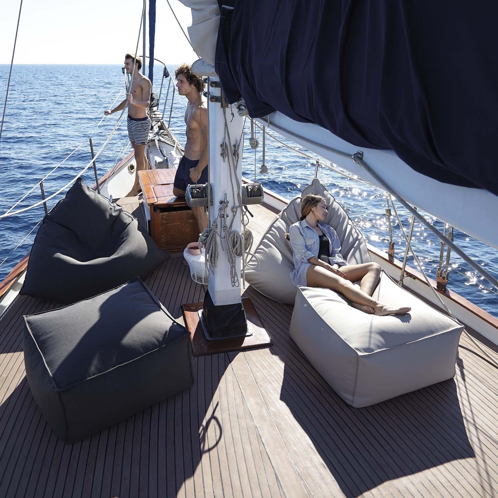 Brilliant Sail Outdoor Pouf Bean Bag Gmtry Best Dining Table And Chair Ideas Images Gmtryco