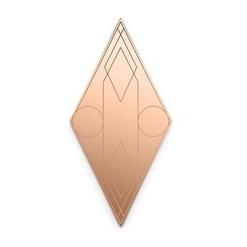 Petite Friture - Mask Wandspiegel Diamant 120x60cm - koralle