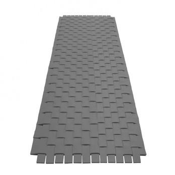 Hey-Sign - Hey-Sign Teppich Geflecht - grau/Filz/5 cm Streifen/Größe 1/70x200cm