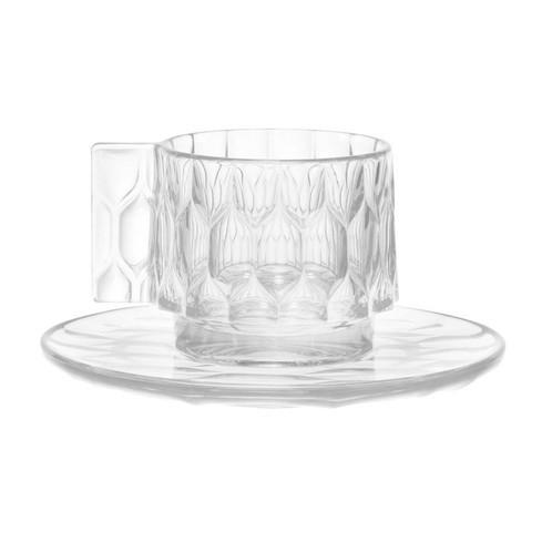 Kartell - Jellies Family Tasse mit Untertasse Set