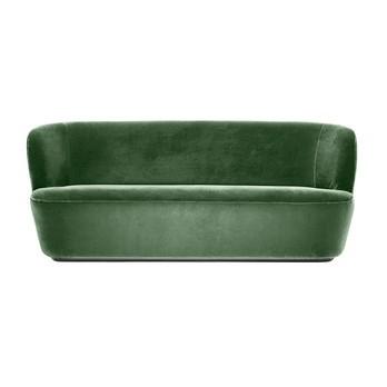 Gubi - Stay Sofa 2-Sitzer - grün/Stoff Velluto di Cotone 234/BxHxT 190x78x70cm