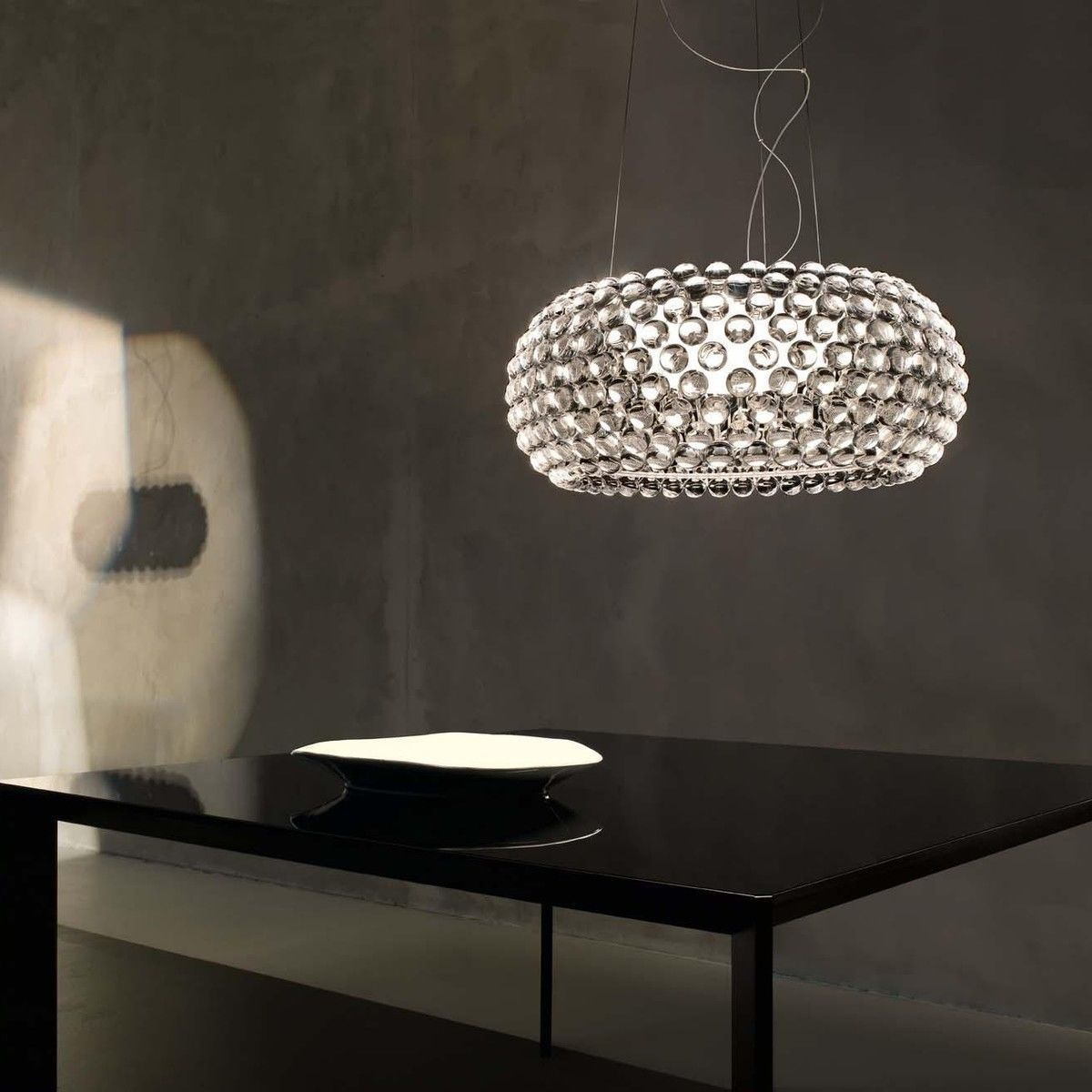 caboche grande sospensione suspension lamp foscarini. Black Bedroom Furniture Sets. Home Design Ideas
