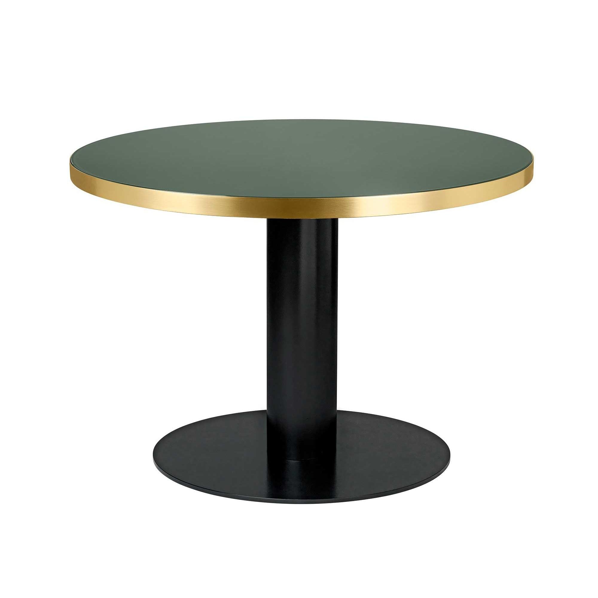 Gubi 20 Dining Table Black Base ø110cm Ambientedirect