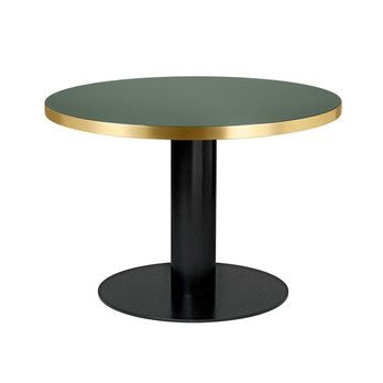- Gubi 2.0 Dining Table Tisch Gestell schwarz Ø110cm -