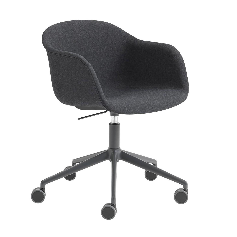 Surprising Fiber Chair With Castors And Gas Lift Beatyapartments Chair Design Images Beatyapartmentscom