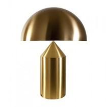 Oluce - Atollo Tischleuchte gold