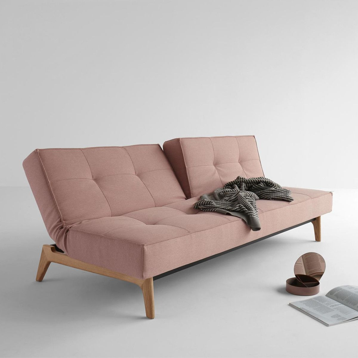 Splitback Oak Sofa Bed Innovation
