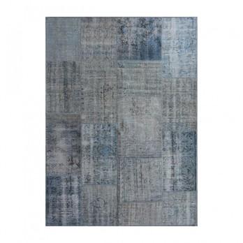 G.T.DESIGN - MeatPacking Teppich  - blau/170x240cm