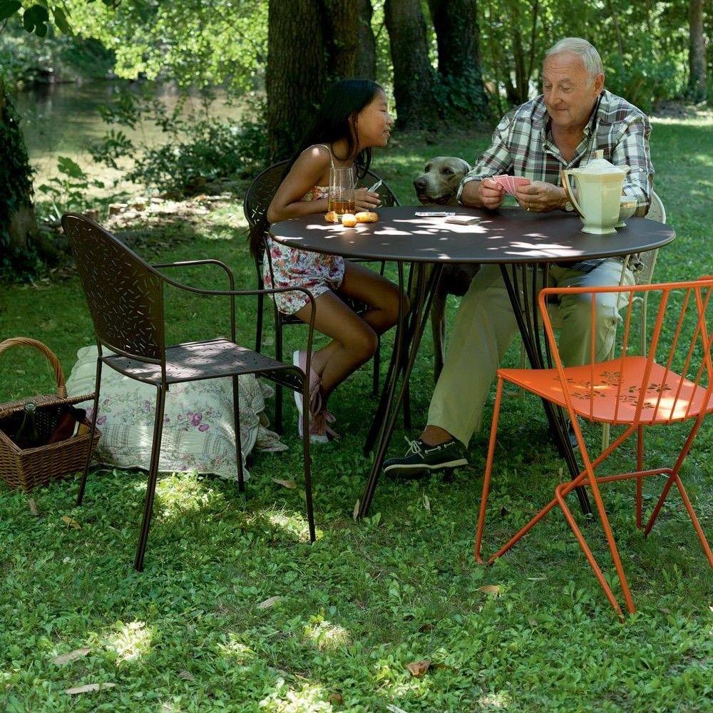 flower fauteuil bridge de jardin fermob. Black Bedroom Furniture Sets. Home Design Ideas