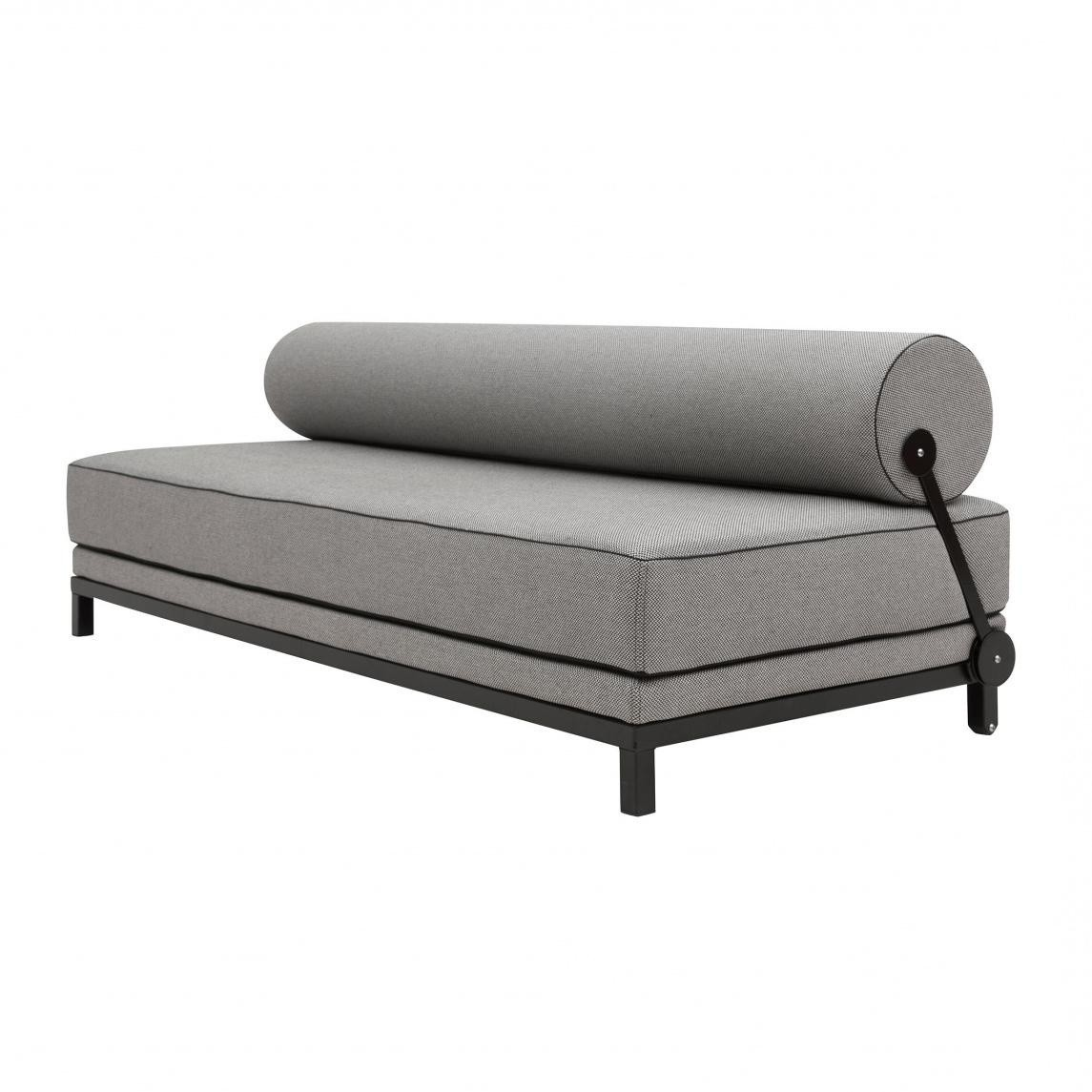 Softline Sleep Day Bed Sofa Black