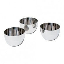 Alessi - Mami Small Bowl Set Stainless Steel