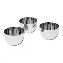 Alessi - Mami - Set de 3 petits bols en acier