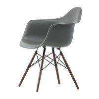 Vitra - Eames Plastic Armchair DAW Ahorn dunkel H43cm