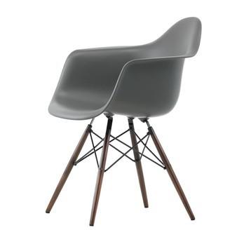 Delicieux Vitra   Eames Plastic Armchair DAW Maple Dark H43cm   Basalt ...