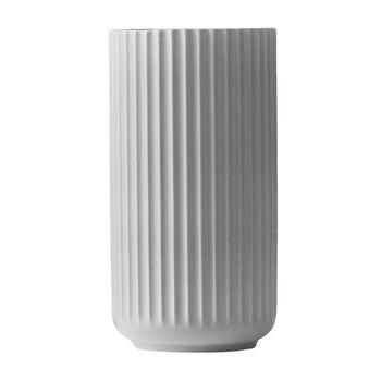 Lyngby Porcelæn - Lyngby Porzellan Vase H20cm - hellgrau/handgemachtes Porzellan/Ø10.5cm