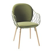 Magis - Piña Chair Fabric fully upholstered