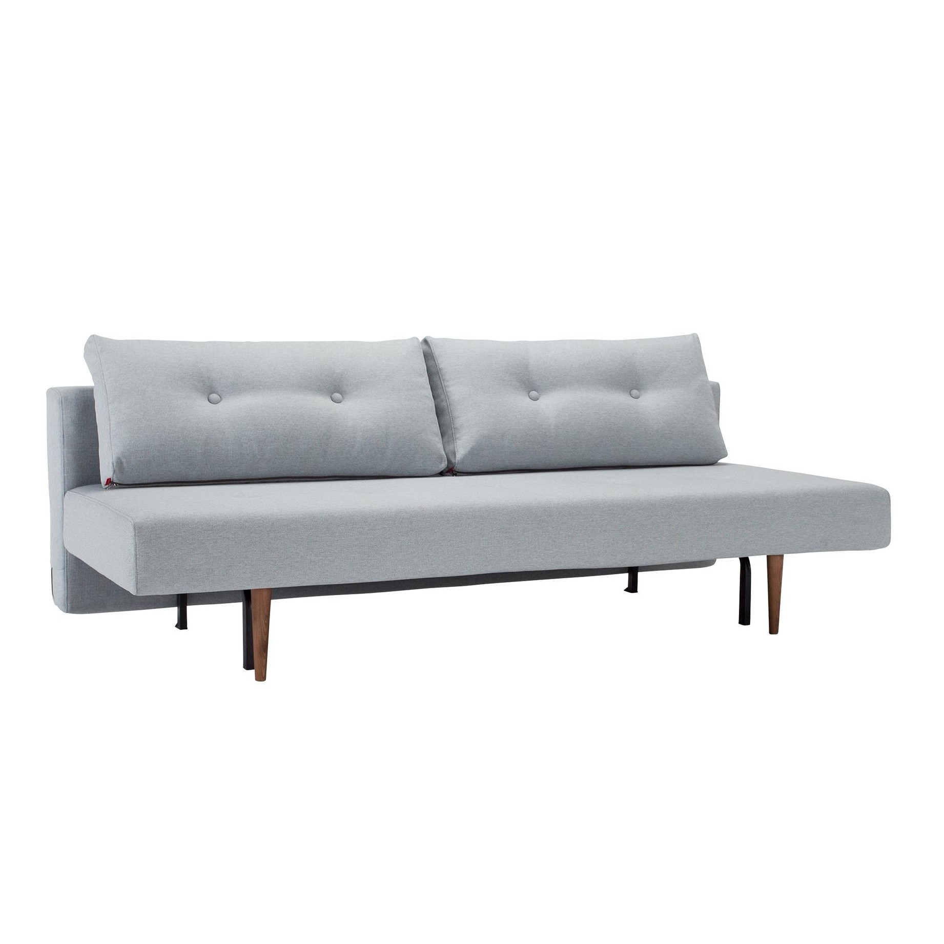 Innovation Recast Sofa Bed Light Blue Grey Frame Wood Fabric 552 Soft