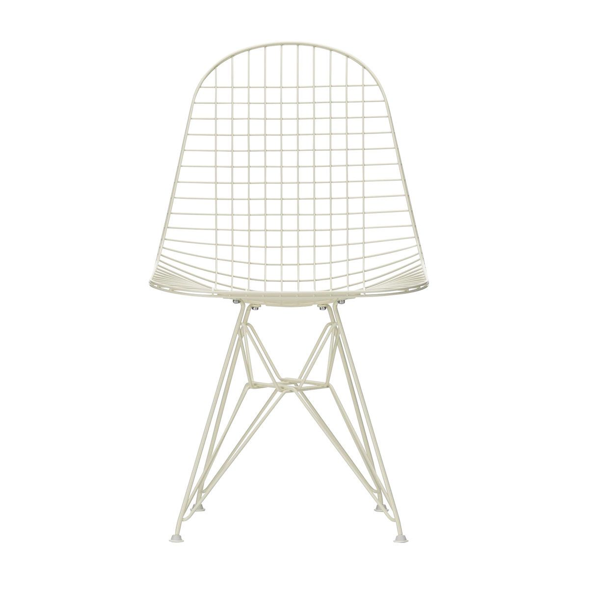 Eames wire chair dkr chaise 43cm vitra for Pietement eames