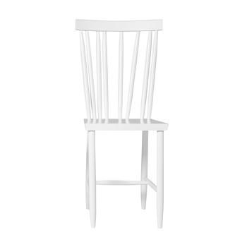 DesignHouseStockholm - Family Chair No.4 Stuhl - weiß/PU lackiert/35x86x47cm