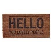 Bloomingville - Hello People - Voetmat