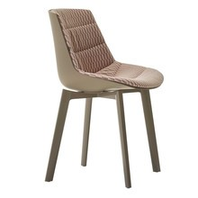 MDF Italia - Flow Cross Chair Upholstered