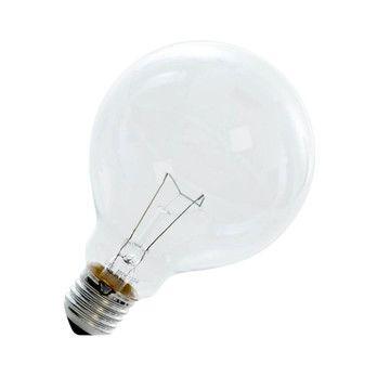 QualityLight - AGL E27 Globe R95 25W - klar/Glas/Energieeffizienzklasse e/Gewichteter Energieverbrauch 25 kW/1000 h