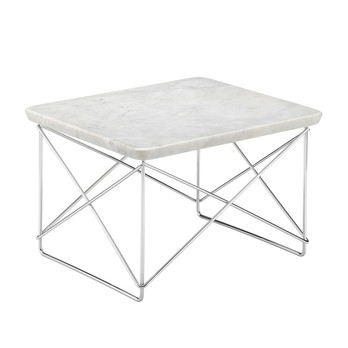 Vitra - Occasional Table LTR Beistelltisch Marmor Gestell verchromt